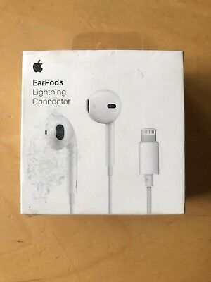 GENUINE APPLE Lightning EarPods Earbuds w/MIC - For iPhone X XS Max XR 8 7 Plus