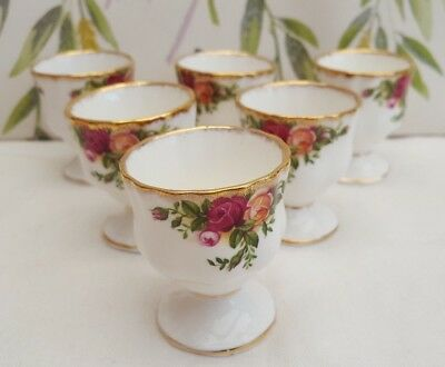 """Royal Albert """"Old Country Roses"""" Egg Cups ***5----AVAILABLE***"""