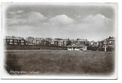 GLASGOW Postcard Bowling Green Cathcart RP Early