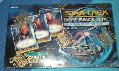 Fleer STAR TREK DEEP SPACE NINE MEMORIES FROM THE FUTURE TRADING CARD BOX DS9