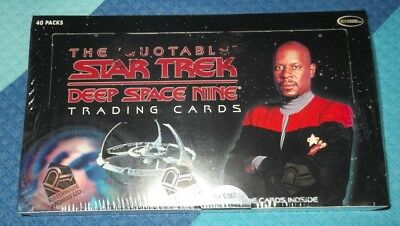 Rittenhouse STAR TREK DEEP SPACE NINE THE QUOTABLE TRADING CARD BOX DS9