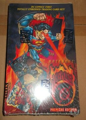 Skybox DC FIREPOWER Premiere Edition CARD BOX 36 packs