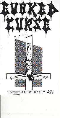 EVOKED CURSE-TAPE-Ourburst of Hell    Demo 1999