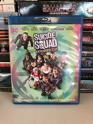 Suicide Squad: Extended Cut Blu-ray Will Smith