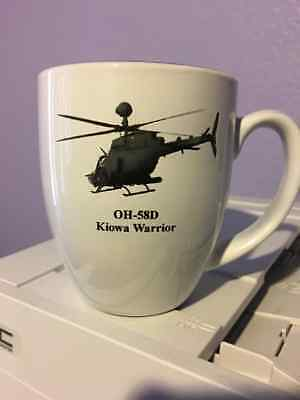 Customizeable OH-58D Kiowa Warrior 16 oz Bistro Mug