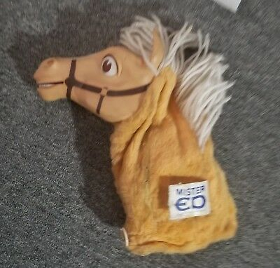 MR. ED Talking Hand Puppet in Working Condition, Circa 1961