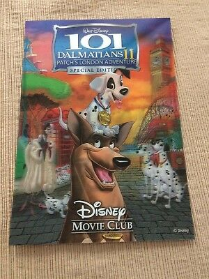 Disney 3D collector card 101 Dalmatians II Patche's London Adventure