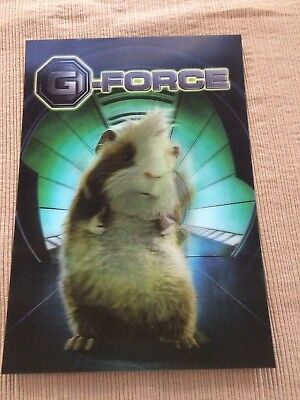 Disney 3D collector card G - Force