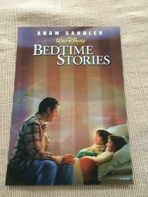 Disney 3D collector card Bedtime Story