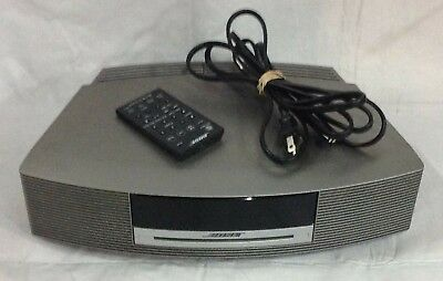Bose Wave Music System CD Player AM/FM Alarm Clock Radio with Remote