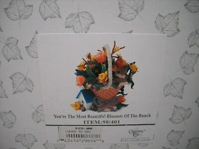 CHARMING TAILS You're The Most Beautiful Blossom Of The Bunch Mouse Figurine NEW