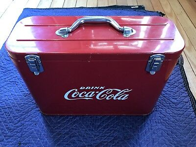 "Original Coca Cola vintage 1940s/1950s ""Airline Cooler"" Great condition."