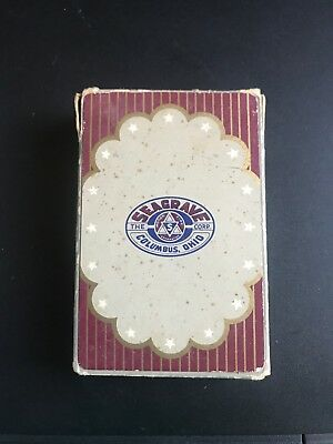 Seagrave Fire Truck Corp. Columbus, Ohio Pack Of Playing Cards