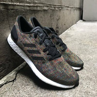 99fdbc0d694d1 NEW Adidas PureBOOST DPR LTD Limited Mens Running Shoes Black Multi Color  CG2993