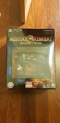 RARE Mortal Kombat Kollector's Edition PlayStation 3 PS3 Sealed Collector's UK