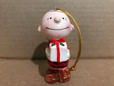 Vintage Charlie Brown Ceramic Ornament 1950 United Feature Syndicate, Inc Japan