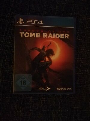 Shadow of the Tomb Raider - Standard Edition (Sony PlayStation 4, 2018)