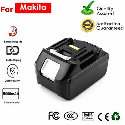 New For Makita BL1860 BL1845 LXT 18V 5.0Ah Lithium Ion Battery BL1840 BL1830 US