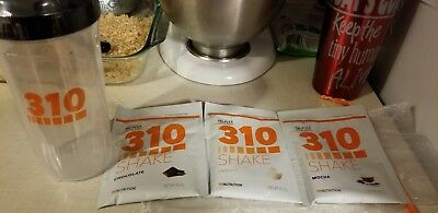 310 Shakes (3) and Shaker Cup