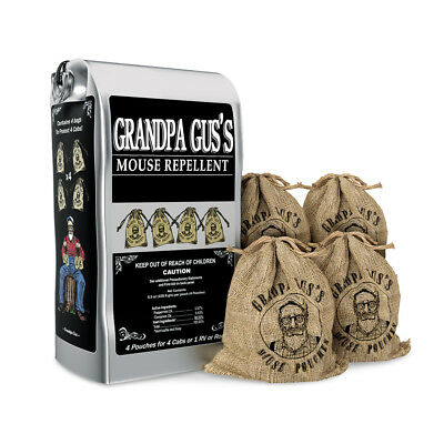 Grandpa Gus's Mouse Repellent Pouches - Made in the USA , by Collections Etc