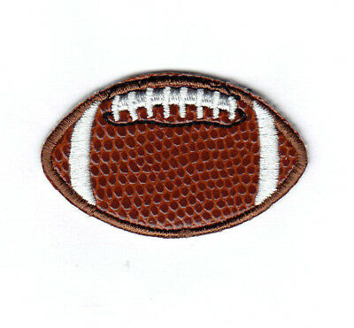 """FOOTBALL 2"""" Sports Games Pigskin Iron On Patch"""
