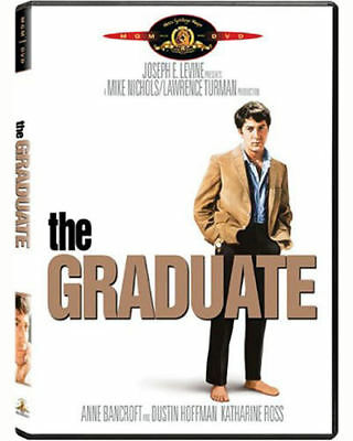 The Graduate DVD 1967 Dustin Hoffman, Anne Bancroft Katharine Ross CLASSIC MOVIE