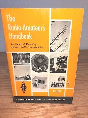 1969 ARRL RADIO AMATEUR'S HANDBOOK ~ American Radio Relay League ~ Softcover