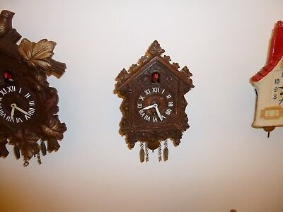Lux Cuckoo Clock 1930's Nice Condition Works Great!
