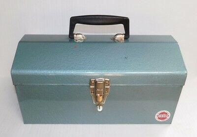 "Vintage Western Auto Wizard 15"" Toolbox Tool Box Made in USA"