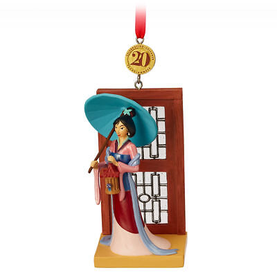 Disney Store Mulan Cri-Kee Legacy 2018 Sketchbook Ornament Limited Release NEW