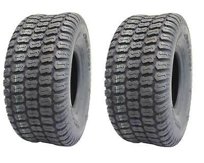 2-Pack, Deli 16 x 6.50 - 8, Turf Master Tread, 4 Ply, Tubeless, Lawn mower tires