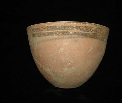 AMAZING!   ANCIENT PAINTED BOWL-CUP! FROM EARLY BRONZE AGE! 3000BC~~~no reserve