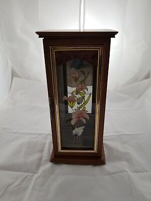 Antique/Vintage Stained Glass/Wood Jewerly Box! Excellent Condition! Rare!