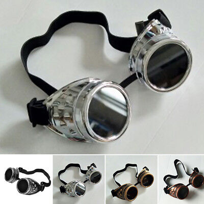 Vintage Steam Punk Cyber Goggles Steampunk Glasses Vintage Welding Gothic Gift