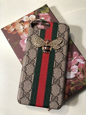 reputable site 6c177 22ff9 GUCCI CASE FOR Iphone 7 / 8 Plus With Logo And Bee