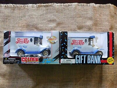 Pepsi-Cola Banks NEW Gold Classic Special Ed. 1996, Limited Ed 1993