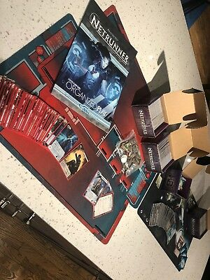 Andriod Netrunner The Card Game Lot: X2 Decks And Lots Of Cards And Playmats