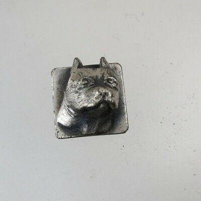Vintage Sterling Collectible Boston Terrier