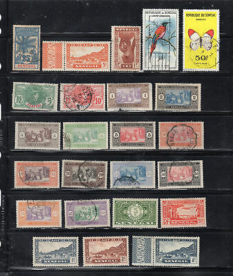 France Colonies Senegal Europe Africa  Stamps Mh & Canceled Used  Lot 37707
