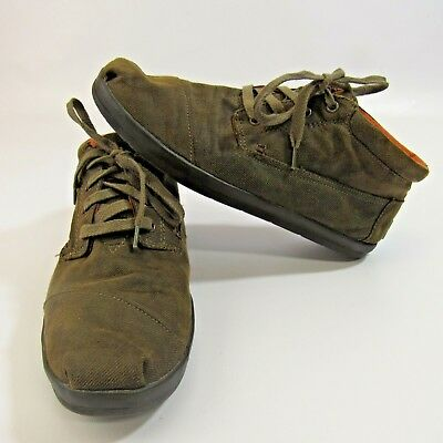 NEW Men/'s Lace Up Fender Tennis Canvas Shoes by The Buckle Size 10