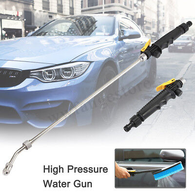 70CM High Pressure Water Jet Gun Spray Lance Power Hose Car Washing Cleaning Gun