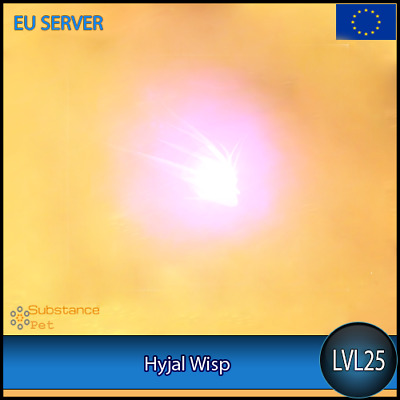 Hyjal Wisp lvl25 Pet | All Europe Server | WoW Warcraft Loot Tier