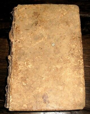 1789 American DICTIONARY William Young ANTIQUE Schoolbook BATH CO VA Slave Entry