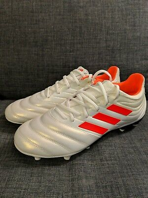 8c29bf378ac Adidas Copa 19.3 FG Soccer Cleats Men s Off-White Solar Red BB9187 Size 8