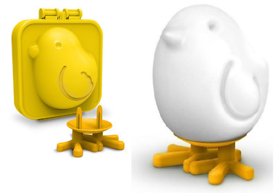 Fred Egg-A-Matic Chick Hard Boiled Egg Mold Bird Chicken Shape Mould Stand
