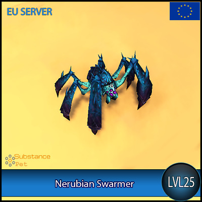 Nerubian Swarmer lvl25 Pet | All Europe Server | WoW Warcraft Loot Tier