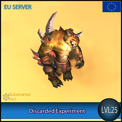 Discarded Experiment lvl25 Pet | All Europe Server | WoW Warcraft