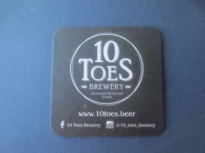 1 only 10 TOES Micro Brewery New South Wales  BEER  COASTER