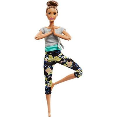 """Dolls Barbie Made To Move Doll, Brunette Toys """" Games"""