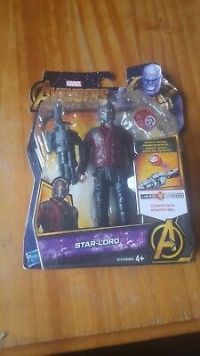 MARVEL AVENGERS INFINITY WAR 6 Inch STAR LORD Action Figure In Box  - Y99